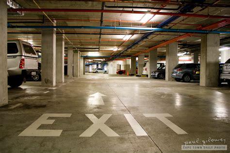 underground parking garage parking cape town daily photo