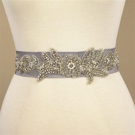 beaded belts for dresses sle sale rhinestone beaded cement gray wedding dress belt