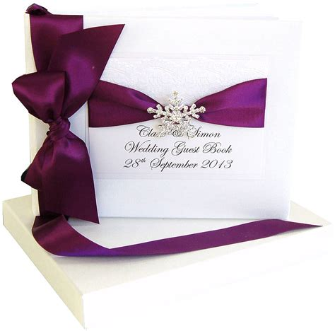 wedding picture guest book snowflake wedding guest book by made with designs ltd