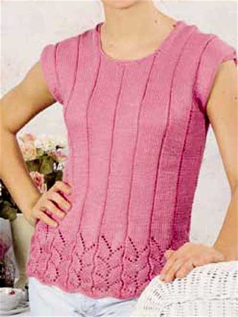 free knitting patterns for summer tops knitting sleeved sweaters summer