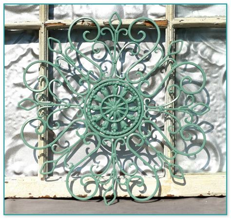 garden wall decor wrought iron vintage garden decor for sale