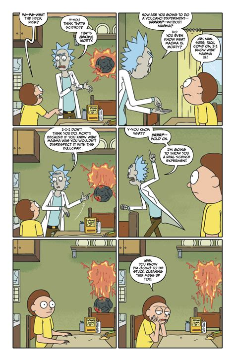 rick and morty hardcover book 1 rick and morty 26 six page advance preview nerdspan