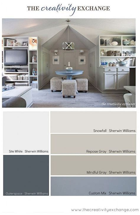 real simple foolproof paint colors for every room in the house interior paint color color palette ideas home bunch