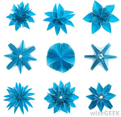 kinds of origami paper what are the different types of origami crafts