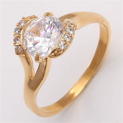 how to make gold filled jewelry 8 8mm white sapphire 14k yellow gold filled jewelry ring