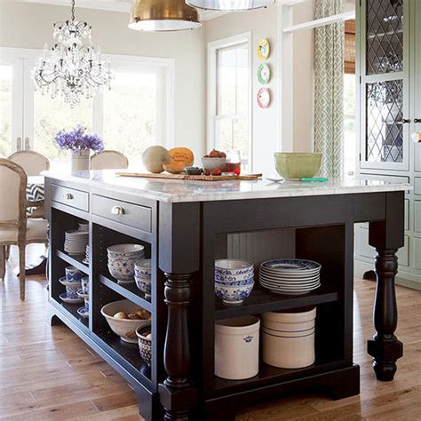 open kitchen islands 55 great ideas for kitchen islands the popular home