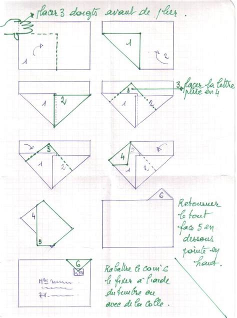 origami envelope a4 enveloppe pliage a4 sans d 233 coupe another way to fold an