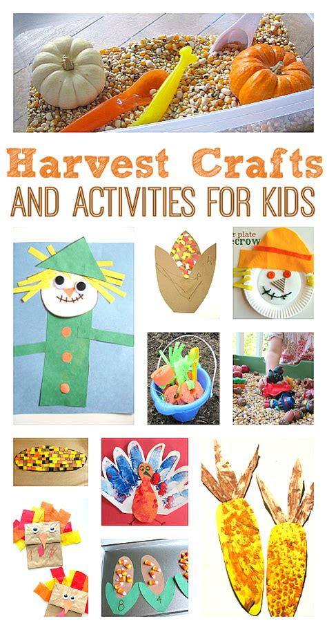 harvest craft ideas for harvest crafts activities no time for flash cards