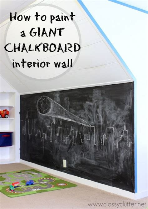 chalkboard paint not sticking how to make a chalkboard wall clutter bloglovin