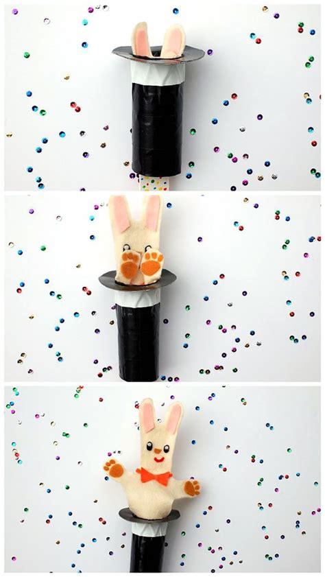 magic crafts for magic hat bunny crafts