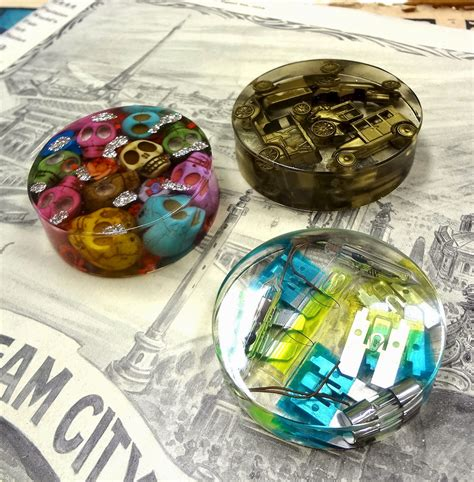 resin craft projects resin crafts paperweights with easycast resin