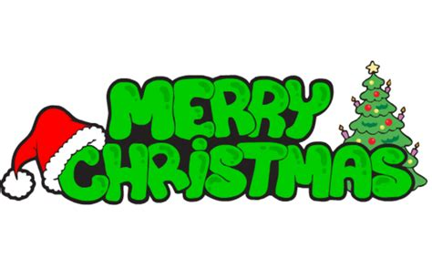 merry christmas logo design
