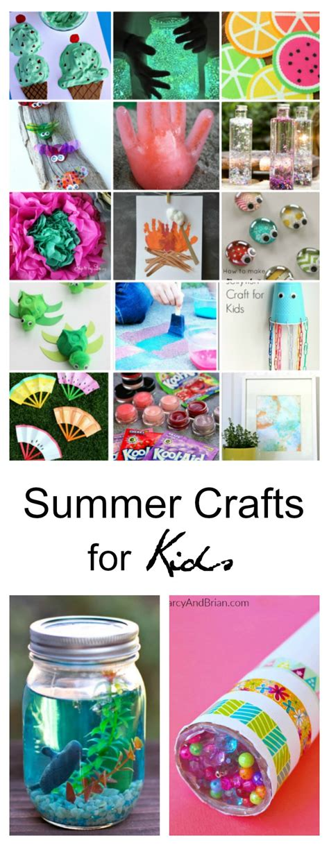 ideas for summer 40 creative summer crafts for that are really