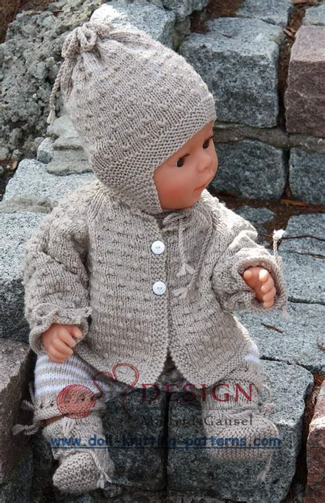 dolls knitted clothes patterns baby und kleinkind on knitted baby baby
