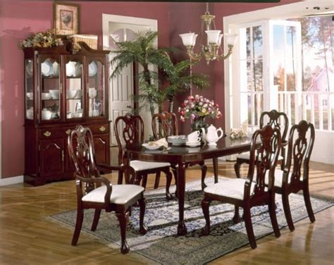 cherry wood dining room furniture interior home and design cherry wood dining room breakfront table