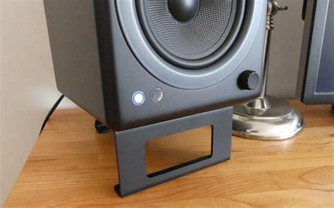 desk top speaker stands aileron labs desktop speaker stand dss1