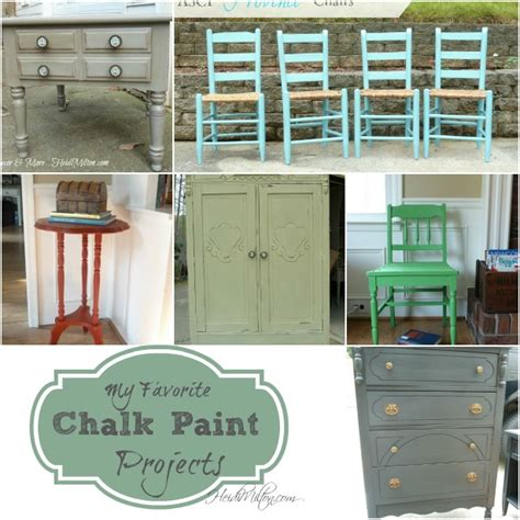 chalk paint projects my favorite chalk paint projects