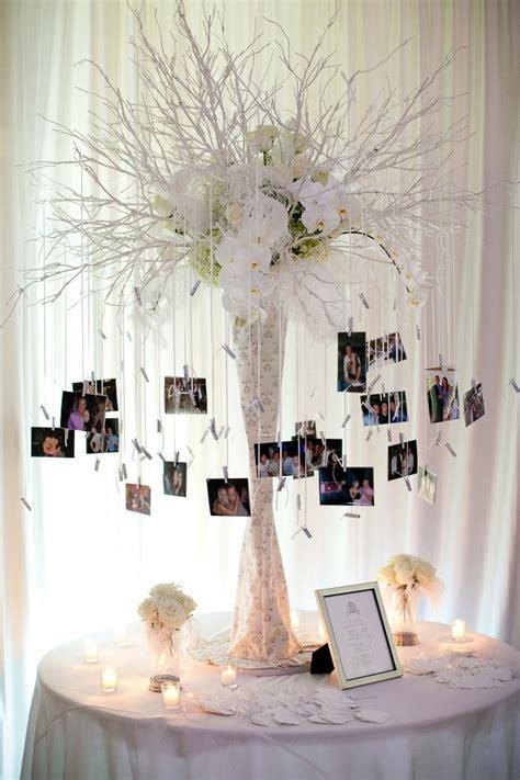 tree decoration photos 26 creative diy photo display wedding decor ideas tulle