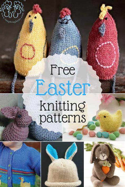 laughing hens knitting patterns free easter knitting patterns