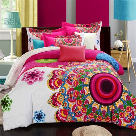 boho comforter set bohemia boho duvet cover set winter comforter cover