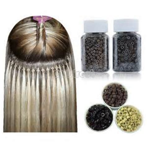 silicone hair extension aliexpress buy 20000per lot 5 0x3 0x3 0 silicone