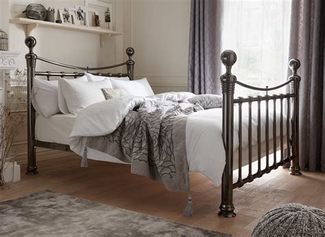 steel bed nelson metal bed frame dreams