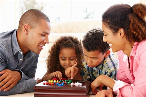 family play why quality time spent at home may be best for families