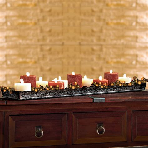 Candle Tray by Big Fork Lodge Candle Tray