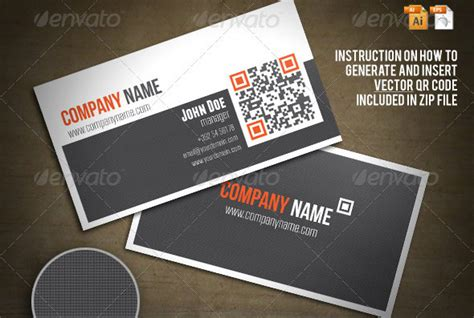 how to make a qr code business card 25 qr code business card templates web graphic design