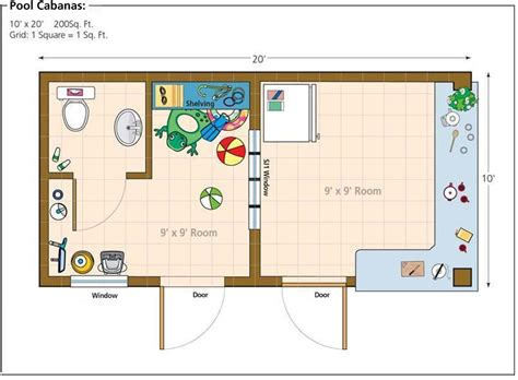 pool house plans free home office shed studio