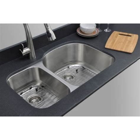 kitchen sink packages sinkware 18 30 70 bowl undermount