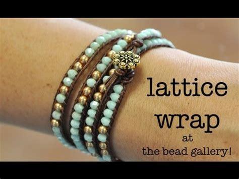 bead gallery honolulu チャンルー風ラップブレスレットの作り方 vol 1 wrap bracelet tutorial doovi