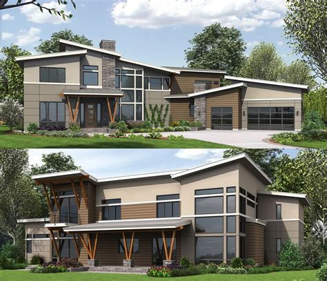 modern homes plans 161 best images about modern house plans on