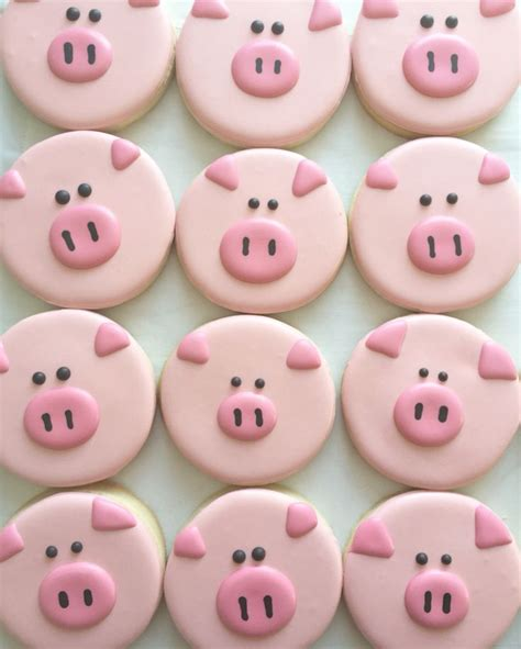 decorating ideas for cookies best 25 pig cookies ideas on farm cookies