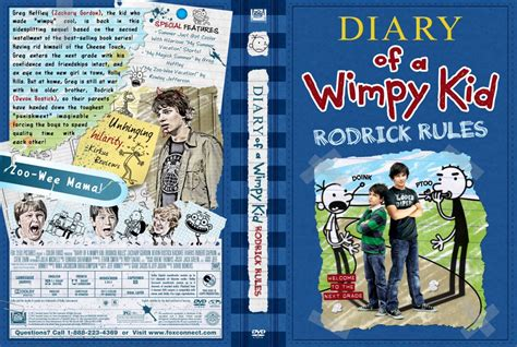 diary of a wimpy kid rodrick book pictures diary of a wimpy kid rodrick dvd custom