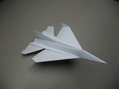 origami plane that flies how to fold an origami f 16 paper plane tutorial