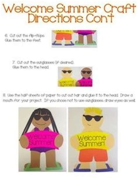 end of summer crafts for summer crafts summer activities end of school year on