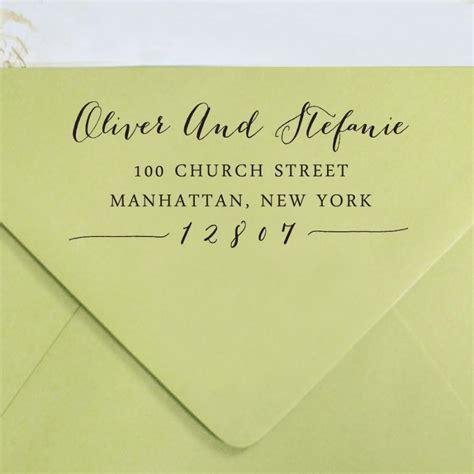 personalized rubber sts return address custom return address st self inking address st