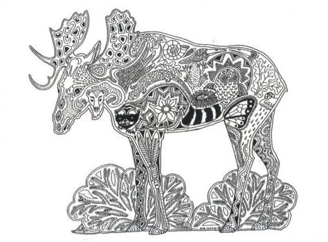 moose rubber st 199 best images about coloring pages on