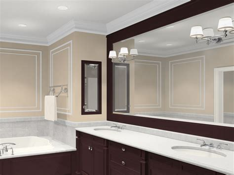 bathroom mirror designs beautiful bathroom mirrors ideas with classic vanity l design and brown classic vanity color