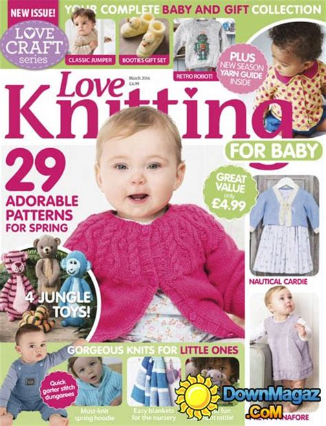 baby knitting magazine knitting for babies march 2016 187 pdf