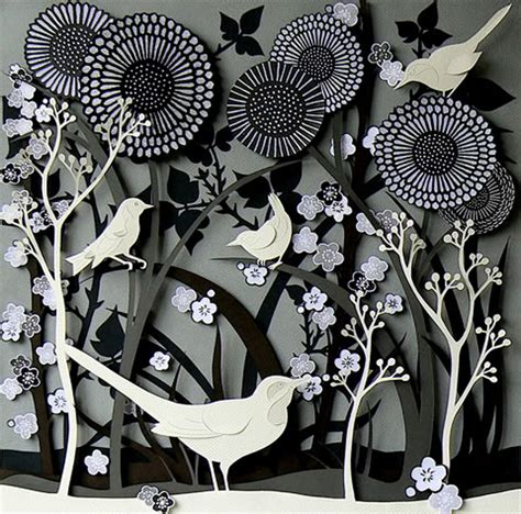 paper cutting craft creative sketchbook helen musselwhite s multi layered 3d