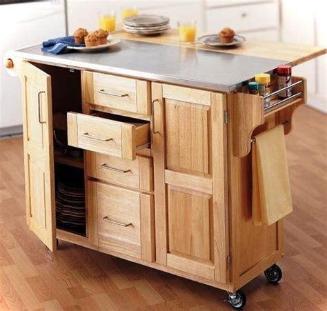 kitchen island or cart 10 multifunctional kitchen island ideas small house decor