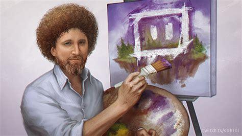 bob ross painting channel twitch launches creative category eight day bob ross