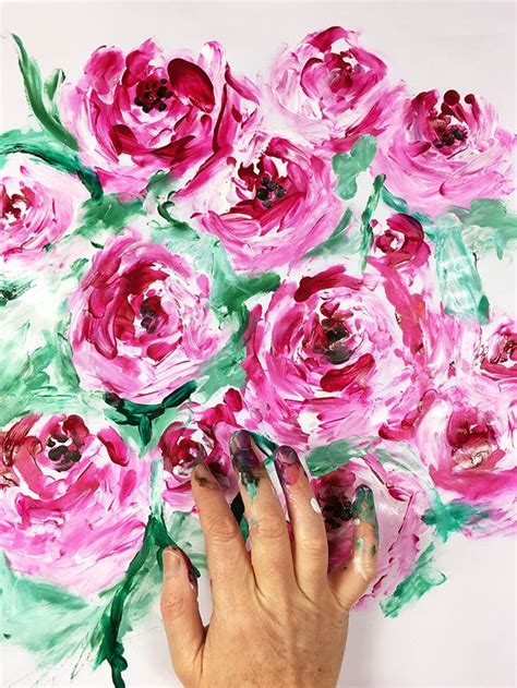 paint crafts for best 25 finger painting ideas on