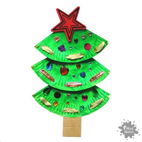 paper plate tree paper plate tree craft for mud mates