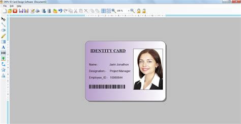 how to make a identity card id card designer 7 3 0 1 free