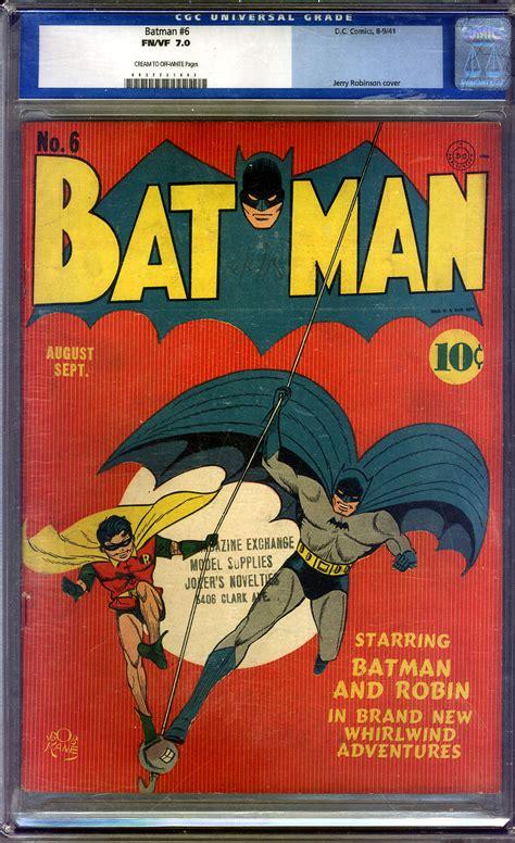 batman comic book pictures batman comic book 6 front cover comics watcher