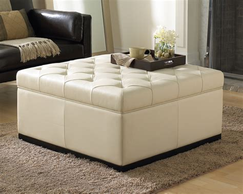 tufted ottoman with storage noah tufted storage ottoman buy storage ottomans