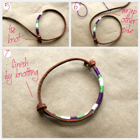 how to make jewelry bracelets diy leather friendship bracelets